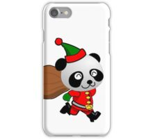 Christmas panda iPhone Case/Skin