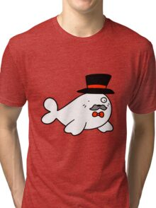 Sophisticated Seal Tri-blend T-Shirt