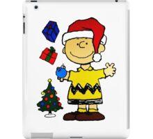 CHARLIE BROWN CHRISTMAS 3 iPad Case/Skin