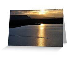Sunset over Lake Powell - Utah Greeting Card