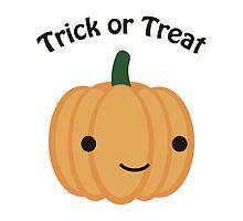 Trick or Treat - Cute Pumpkin by Eggtooth