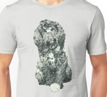 Cockapoo with a ball (Grey) Unisex T-Shirt