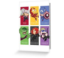 Avenger Assemble! Greeting Card