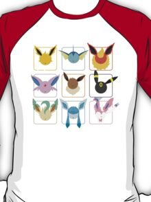 Eeveelutions Grid T-Shirt