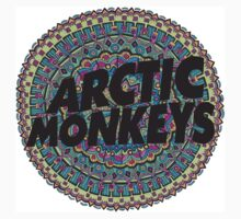 Arctic Monkeys Tribal Print by trinititaylor