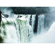 Iguaza Falls - First Look Photographic Print