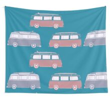 Surf Van Surf Wall Tapestry