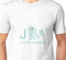 J is for Jellyfish Unisex T-Shirt