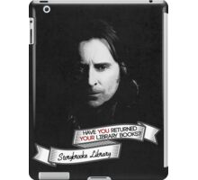 Return your Library Books or Else.... iPad Case/Skin