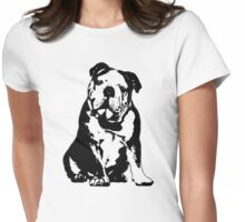 Bulldog Love Womens Fitted T-Shirt