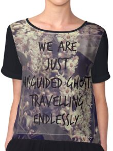 Misguided Ghosts Chiffon Top