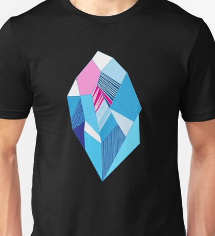 Bright pattern crystals Unisex T-Shirt