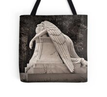 Weeping Angel - sepia Tote Bag