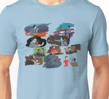Spirited Away Garak/Bashir AU Unisex T-Shirt