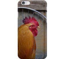 Cyclist Rooster iPhone Case/Skin