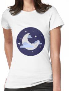 Night night! Womens Fitted T-Shirt