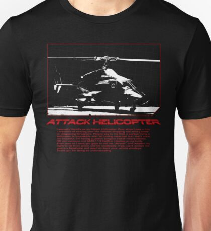 ATTACK HELICOPTER Unisex T-Shirt