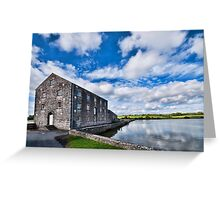 Carew Mill Pembrokeshire Greeting Card