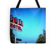 Retro Motel...In Bend, Oregon Tote Bag