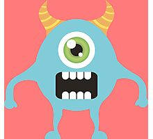 Cute one eyed monster Photographic Print