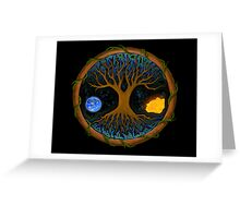 Astral Tree of Life Greeting Card