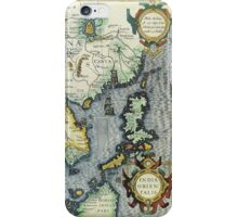 Southern Asian Continent Map 1600s iPhone Case/Skin
