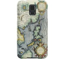 Southern Asian Continent Map 1600s Samsung Galaxy Case/Skin