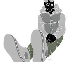 100 Days. Guy with grey jacket. by MarcConaco