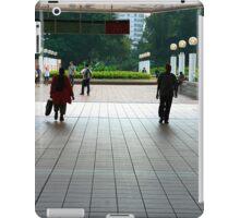 Subway entrance, Kowloon Park iPad Case/Skin