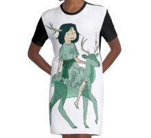 forest spirit gee (the one theme that can appeal to anyone) Graphic T-Shirt Dress