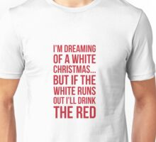 White or Red Wine Unisex T-Shirt