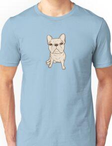 Cream French Bulldog Unisex T-Shirt