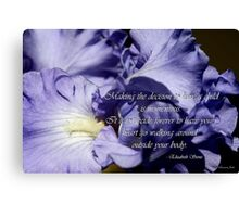 For All Mothers Everywhere Canvas Print
