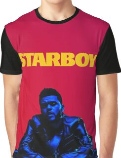 THE WEEKND // STARBOY (WITH FONT) Graphic T-Shirt