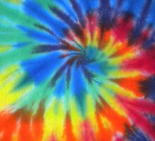 Psychedelic Tie Dye by semiradical