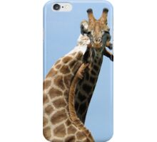 WHEN GIANTS COLLIDE - GIRAFFE – Giraffa Camelopardalis (KAMEELPERD) iPhone Case/Skin