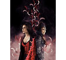 Regina Mills - Evil Queen Photographic Print