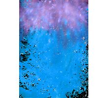 Blue Space Photographic Print