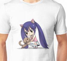 Chibi Wendy of Fairy tail Unisex T-Shirt