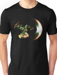Guile Flash Kick Unisex T-Shirt