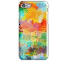 Abstract Nature Painting iPhone Case/Skin