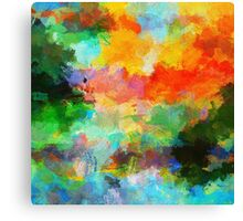 Abstract Nature Painting Canvas Print