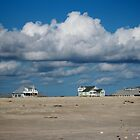 Clouds Over Beach Houses by Cynthia48