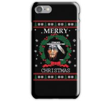 Merry Christmas Standing Rock iPhone Case/Skin
