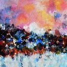 Abstract Landscape Art by Deniz Akerman