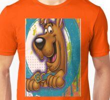 cartoon scooby doo japan naruto design art Unisex T-Shirt