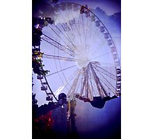 Windsor Wheel Photographic Print