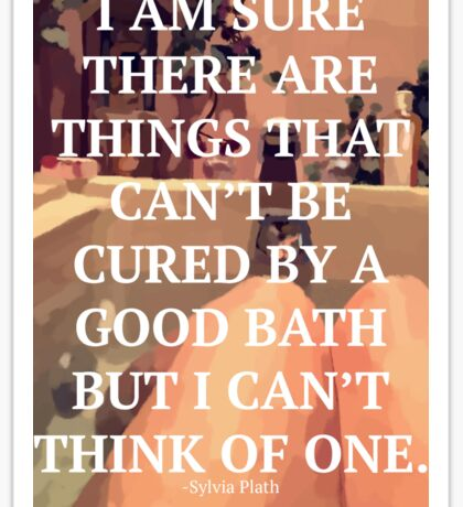 A Good Bath Sticker
