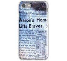 Hank Aaron iPhone Case/Skin