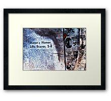 Hank Aaron Framed Print